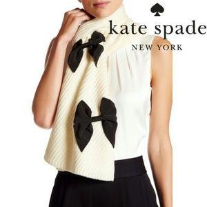 *NWT Kate Spade Diagonal Rib Muffler Scarf